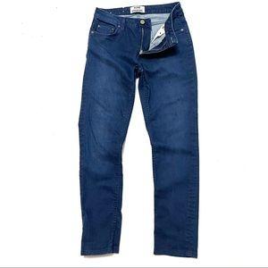 Acne studios 28 flex ocean skinny jeans